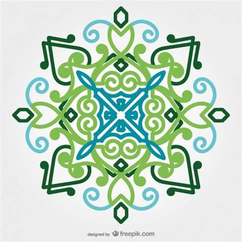Vorlagen Orientalische Muster Orientalische Ornament Vektor Der Kostenlosen Vektor