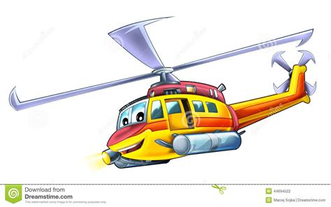 Building Design Plans by Cartoon Helicopter Stock Illustration Image 44694522