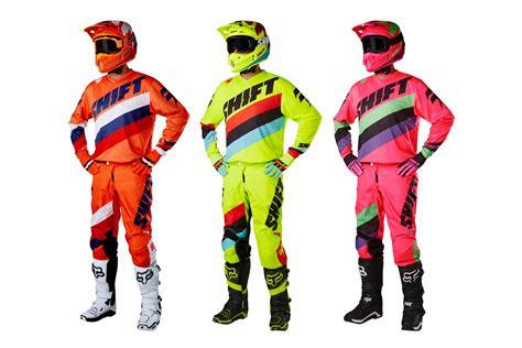 shift motocross gear product 2017 shift mx gear sets motoonline com au