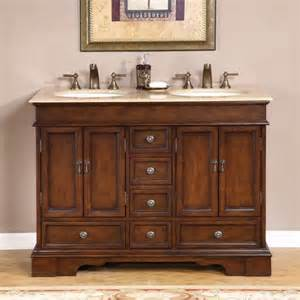 48 vanity sink silkroad exclusive bradford 48 quot bathroom vanity set