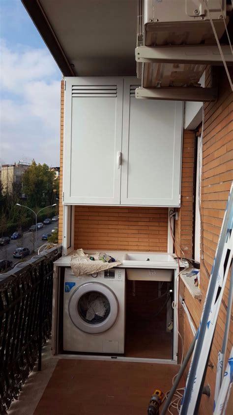 mobile copri caldaia copricaldaia da esterno in alluminio su misura alfa