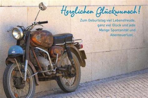 Motorradfahren Mit 60 Jahren by Geburtstagskarte M 228 Nner Herzlichen Gl 252 Ckwunsch Motorrad