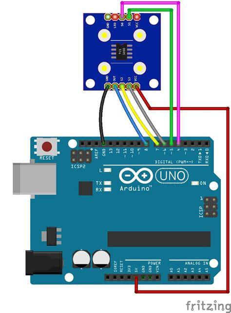 arduino color sensor tcs tcs random nerd