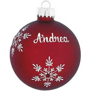 personalized birthstone glass ornament bronner s