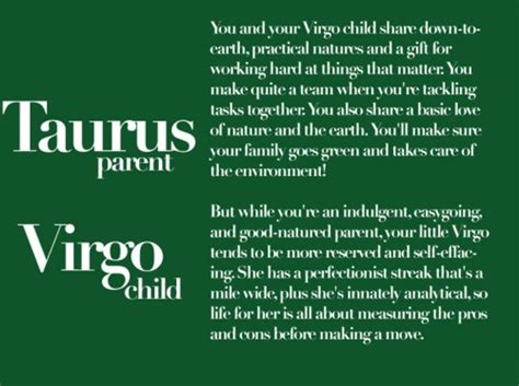 taurus strengh taurus parent virgo child virgo taurus gemini and zodiac