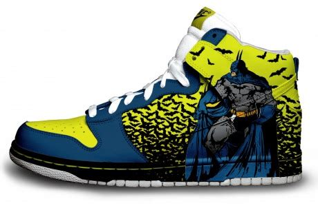 batman sneakers nike these geeky sneaker mods are painted downright