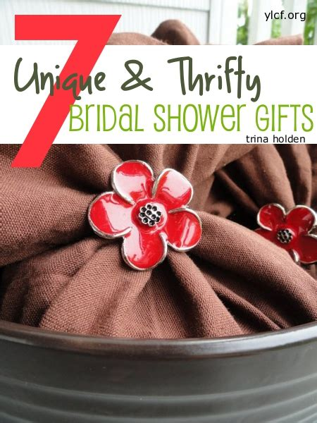 creative wedding shower favors 7 unique and thrifty bridal shower gifts kindred grace