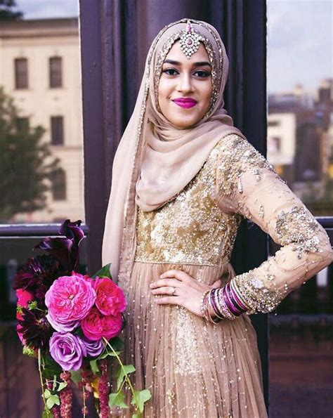 latest bridal hijab styles dresses designs collection 2017 2018