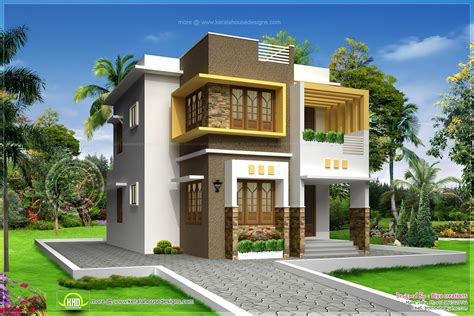 images of houses that are 2 459 square small storied contemporary house design home kerala plans