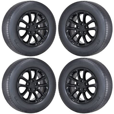 Wheels For Jeep Grand 18 Quot Jeep Grand Black Wheels Rims Tires Factory