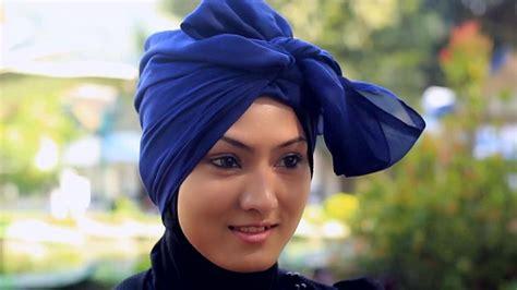 tutorial hijab paris gaya turban papasemar com til maksimal memakai hijab untuk hari