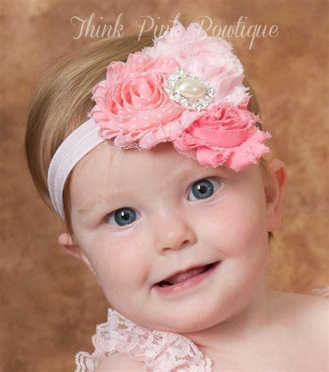 baby headbands baby flower headbands newborn baby pink pink baby headband headband baby headbandnewborn