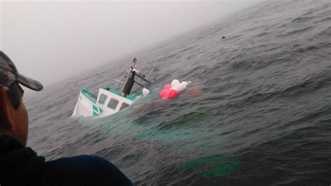 fishing boat accident pei navigator magazine lobster boat goes down on second last