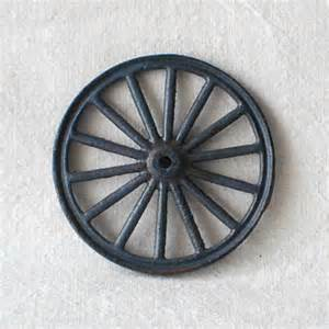 Cast iron toy wagon wheel by thelostrooms on etsy