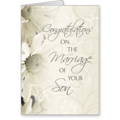 Wedding Congratulation To Parents by Parents Of The Groom Wedding Congratulations Card