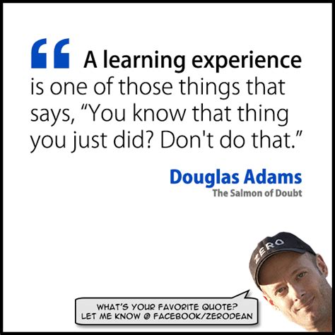 those things learning experience quotes quotesgram
