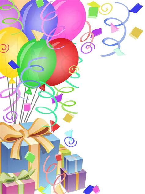 clipart festa clipart til f 248 dselsdag helt gratis ideer til