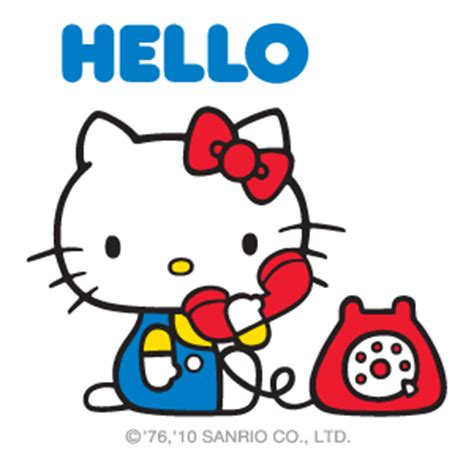 hello our characters sanrio
