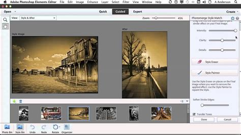 tutorial adobe photoshop elements 11 photoshop elements 11 tutorial matching image styles