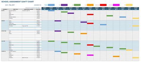 gantt chart calendar template assignment sheet template student weekly assignment sheet