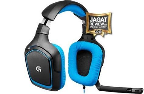Busa Earcup Earpad Headset Logitech G430 gaming headset terbaik di tahun 2013 jagat review