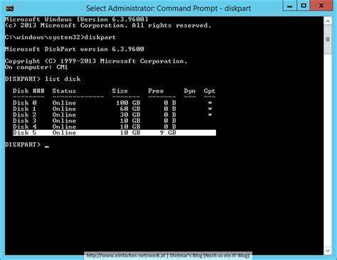diskpart format unit festplatten mit 64k units formatieren f 252 r sql server 2014