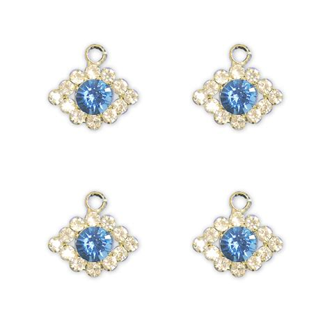 blue moon charms blue moon charms evil with rhinestones jo