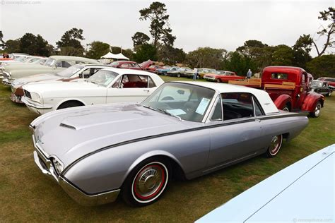auction results  data   ford thunderbird conceptcarzcom