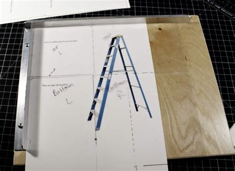 Paper Folding Jig - delays and the help of a page folding jig chewing with