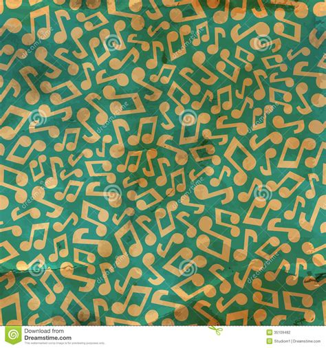 pattern song music notes seamless pattern stock photography image