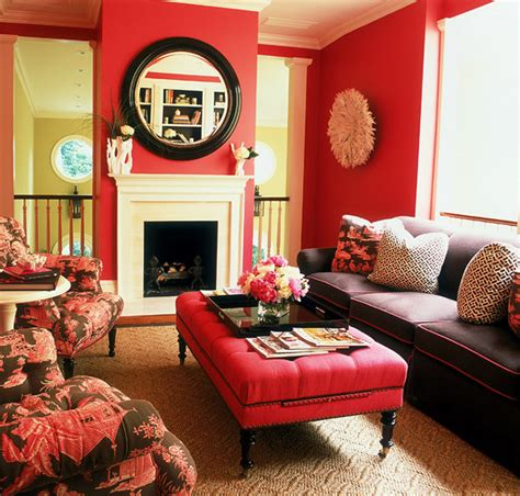 chocolate brown and red living room very pretty room deep rose pink and chocolate brown