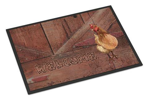Chicken Doormat by Welcome Chicken Door Mat Walmart