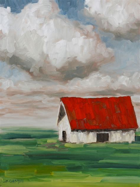 acrylic painting classes san jose expressionist barn acrylic painting lesson tim gagnon