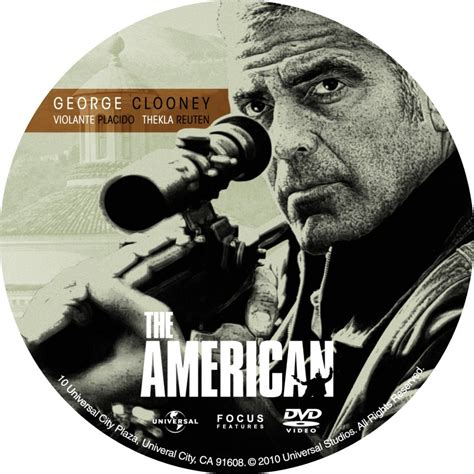 The American The American Dvd Custom Dvd Labels The American Dvd 001 Dvd Covers