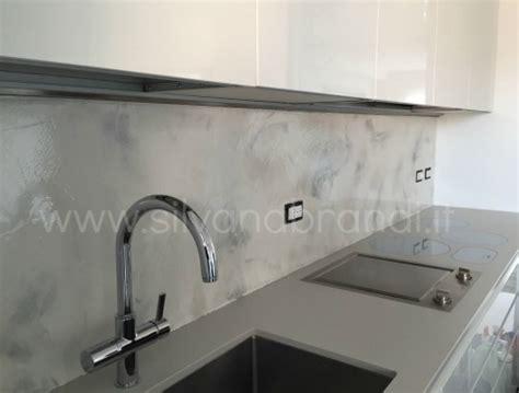 resina in cucina parete cucina pittura lavabile idee per interni e mobili