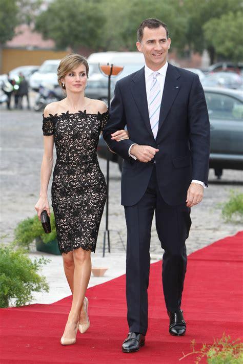 imagenes del negro felipe matilde de b 233 lgica le copia el vestido a letizia el