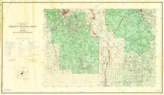 arizona forest service maps forest service arizona forest service maps