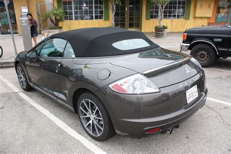 2011 mitsubishi eclipse spyder not the nicest at venice but not bad either