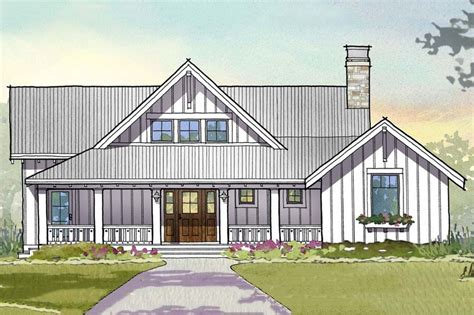 farmhouse style house plan 3 beds 3 5 baths 2597 sq ft