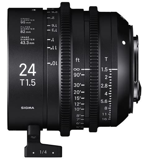 Sigma 24mm T1 5 Ff High Speed Prime Ef Mount sigma 24mm t1 5 ff falcofilms listado de productos alquiler