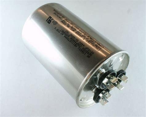 motor run capacitor substitution 1x 60uf 440vac motor dual run capacitor 440v ac 60mfd 60 5uf replacement start ebay