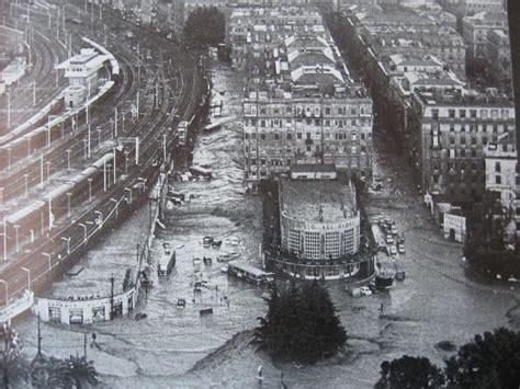 mercato dei fiori genova alluvione 1970 45 anni fa genova finiva travolta da acqua