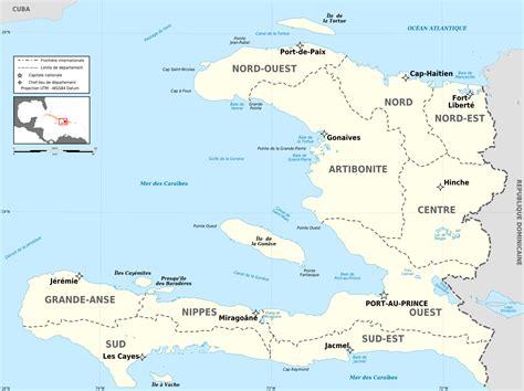 america map haiti large detailed administrative map of haiti haiti large