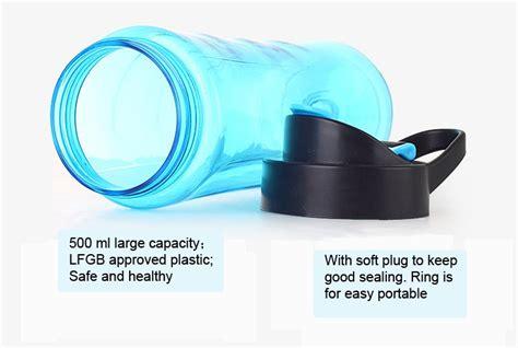 Blender Buah Portable 2 In 1 Juicer Mini 500ml Berkualitas blender buah portable 2 in 1 juicer mini 500ml blue