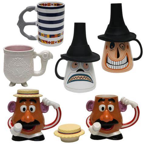 Disneyland Ceramic Magic Castle Tea Set - new disney mugs coming to disney parks inside the magic