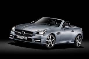 2012 mercedes slk class officially unveiled