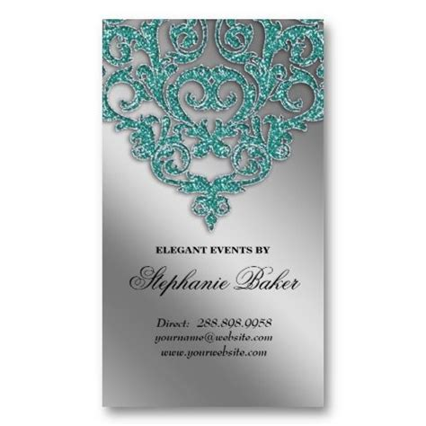 jewelry business card templates damasks wedding and planners on