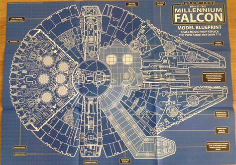 Millennium Falcon Floor Plan by Millennium Falcon Technical Drawing At Getdrawings