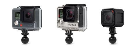 gopro or ram gopro mounts for all gopro cameras ram mounts