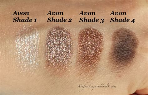 Eyeshadow Avon avon chocolate sensation true color eyeshadow review